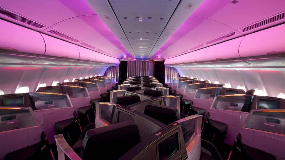 Virgin Atlantic's A330 Upper Class Cabin