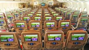 Emirates A380 Economy