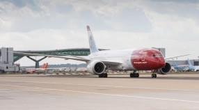 Norwegian Dreamliner at Gatwick