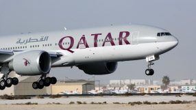 Qatar Airways 2nd Boeing 777-200 Long Range aircraft touches down in Doha