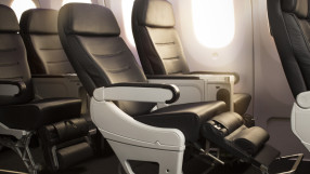 Air New Zealand premium economy on the B787-9