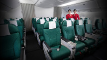 Cathay Pacific Premium Economy Class seating arrangement