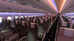 China Airlines Economy on the A350