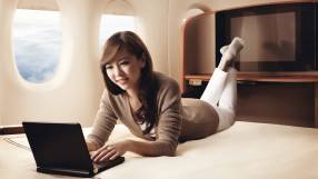Singapore Airlines long-haul first class on the B777-300ER