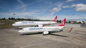 Boeing B737 and B777 Turkish Airlines