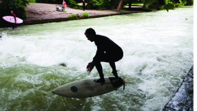 Munich surfer