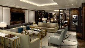 Ritz-Carlton Budapest Club lounge