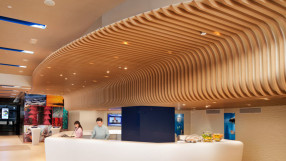 Ozo Wesley Hong Kong reception desk