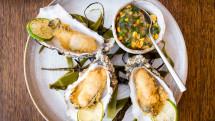 100-Wardour-St_Crispy-oysters,-cucumber-&-sweet-corn-relish