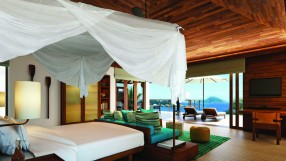 Six Senses Seychelles bedroom