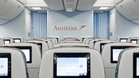 Austrian Ailrines Economy class