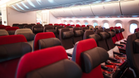 Virgin Atlantic Boeing 787-9 Dreamliner Economy cabin