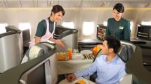 EVA Air business class B777