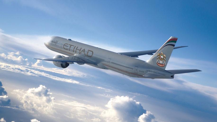 Etihad Airways B777-300ER old livery