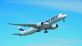 Finnair A350 XWB plane