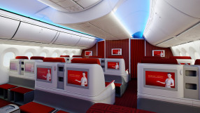 Hainan Airlines Boeing 787-8 Dreamliner Business Class