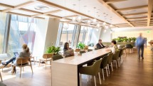 Los Angeles International LAX Qantas, Cathay Pacific, British Airways shared business class lounge