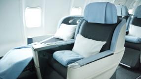 La Compagnie business class seat