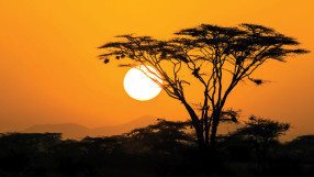 Africa: The rising sun