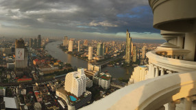 Tower Club at Lebua Bangkok cityscape