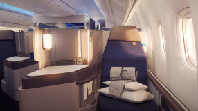 United Airlines Polaris Seat