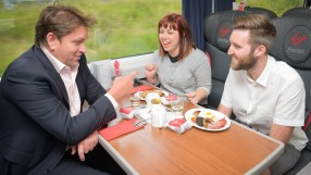 Virgin Trains James Martin new first class menu
