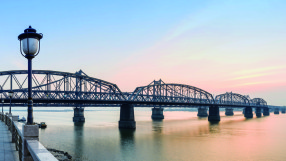 Dandong Yalu River