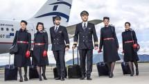 Aegean Airlines crew
