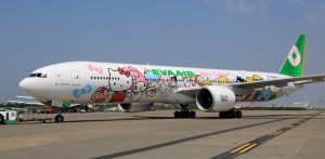 EVA Air Hello Kitty B777