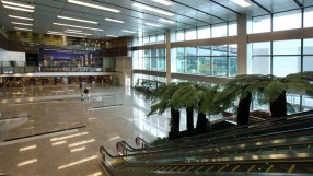 Singapore Changi Airport Terminal 1 Arrival Immigration
