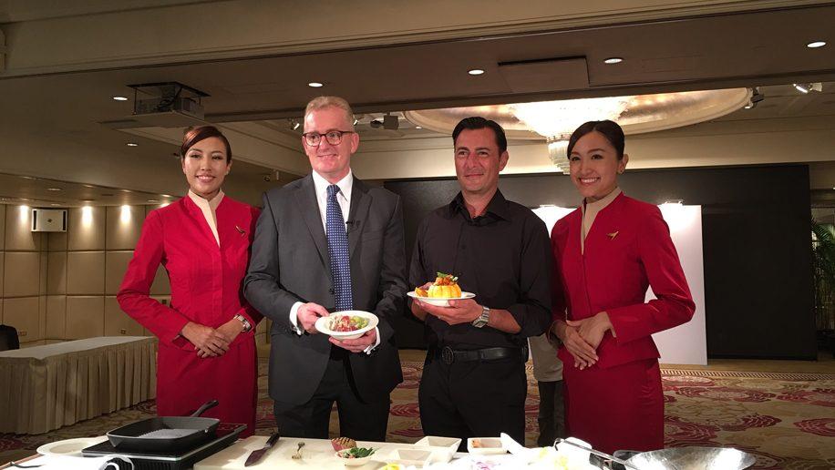 Celebrity chef daniel singapore airlines