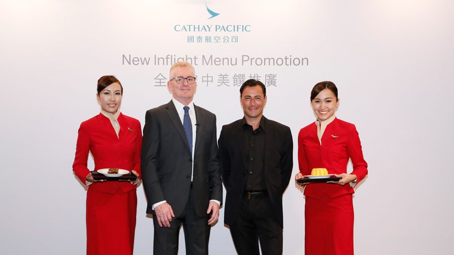 Cathay Pacific partners with celebrity chef Daniel Green ...