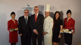 Cathay Pacific and Dragonair partner with Hyatt for new in-flight menu