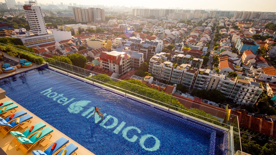 Singapore Hotel With Infinity Pool On Rooftop Image Hotel Indigo Singapore Katong Rooftop Infinity Pool
