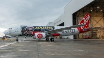 Air Asia's special Kabali flight