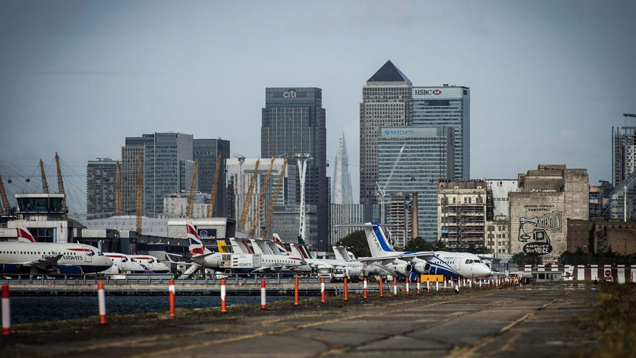 London City Airport flights disrupted due to protesters ...