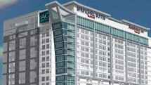 Marriott tri-branded property in Nashville