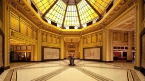 Fairmont Peace Hotel atrium