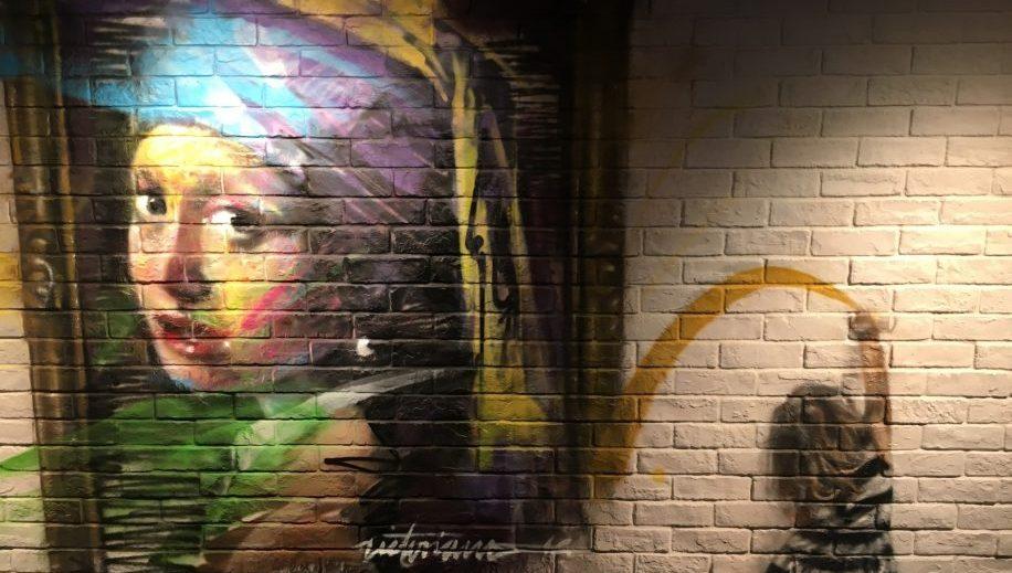 PlayT graffiti at Park Lane, a Pullman Hotel