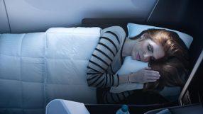 Delta One Suite – sleeping