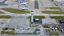 Gatwick airport aerial shot (Jeffrey Milstein)