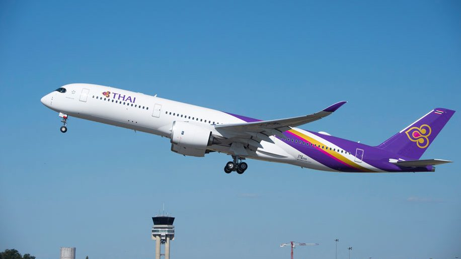 Thai Airways International takes first A350 XWB