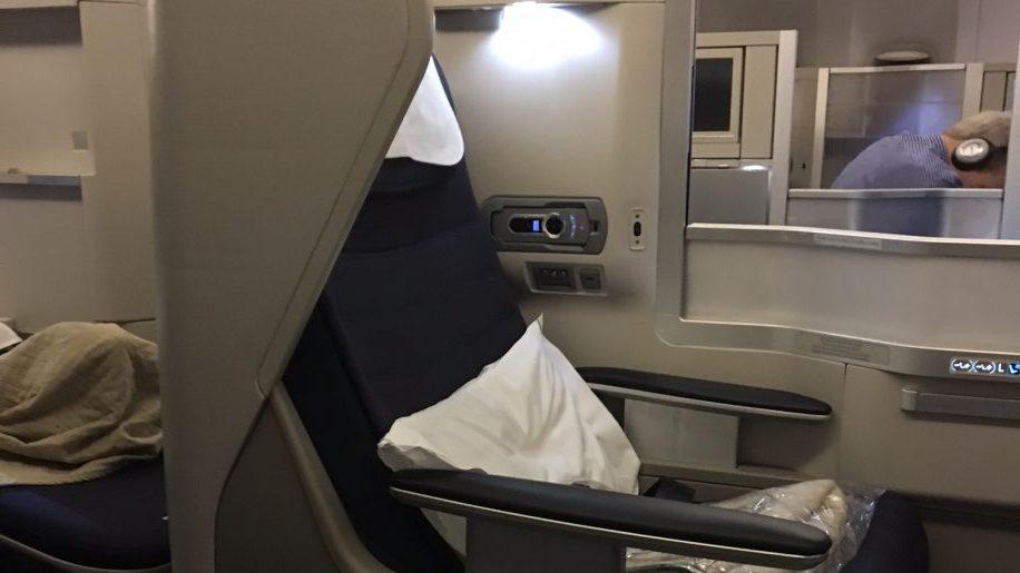 British Airways B777-200 Club World