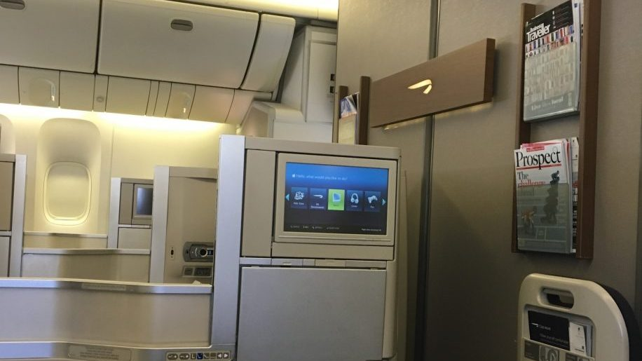 British Airways club World B777-200