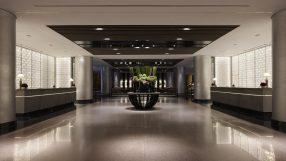 Regent Taipei's renovated lobby
