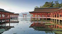 Hiroshima: Torii Gate (shutterstock_152186456)