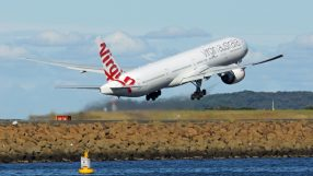 Virgin Australia VH-VPH Aircraft Takeoff