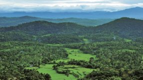 Coorg (India): View from Raja's Seat iStock_68508587