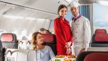"Austrian Airlines ""Chef on board"" service"