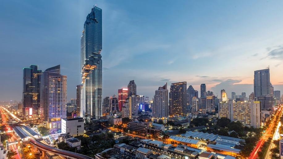 Thailand S Tallest Building Opens In Bangkok S Cbd